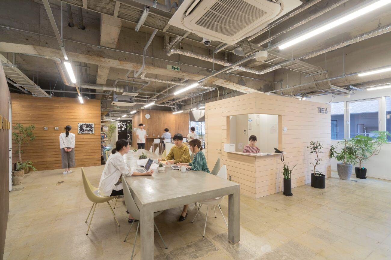 仙台市青葉区にある人気・おすすめの格安コワーキングスペースthe6